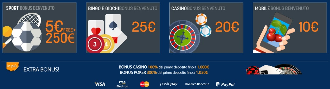 bonus casinò senza deposito immediato